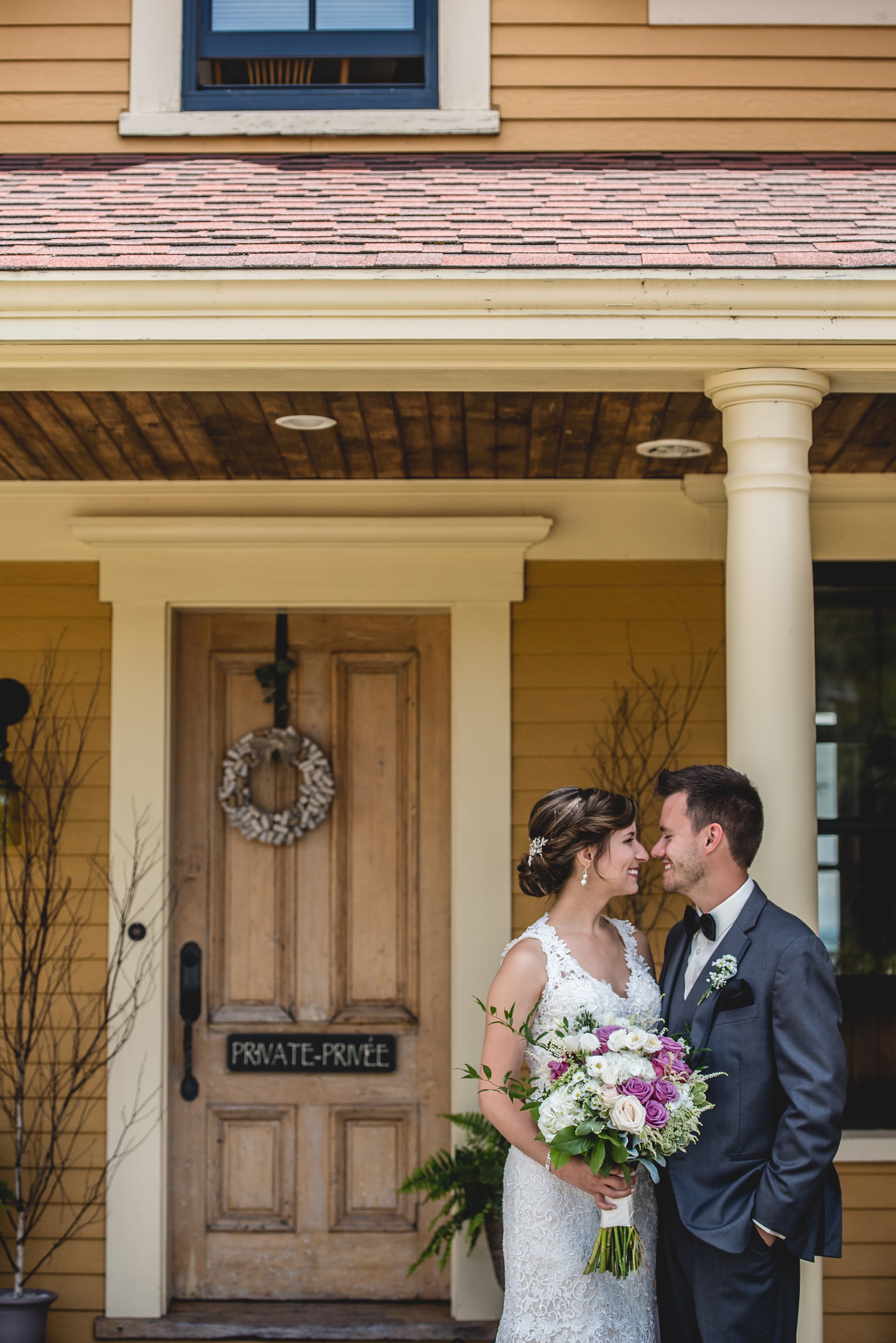 Marie-Michelle & Martin: Magnetic Hill Winery Wedding