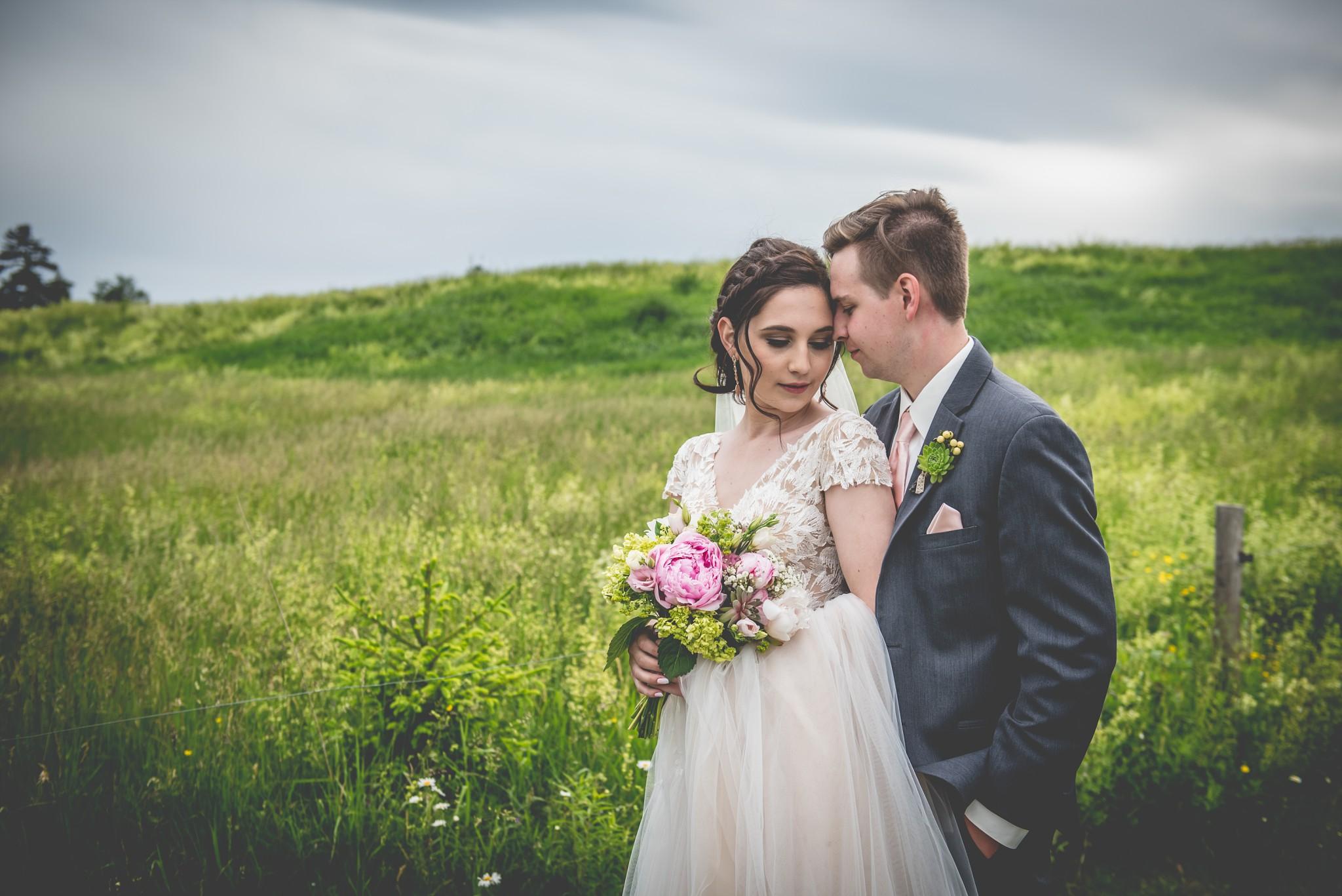 Liz & Isaac : Kelly Hill Farm Wedding